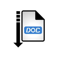 computer doc file icon