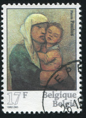 Madonna and Child, by Pieter Paulus