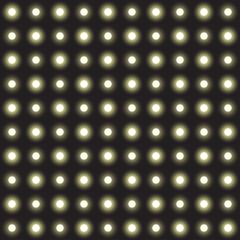 Vector set of garlands light on a transparent background. Seamless background