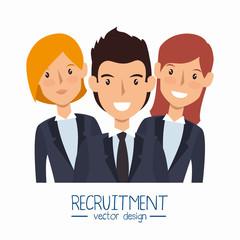business people avatars group vector illustration design