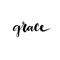 Grace Upon Grace in Hand Lettering