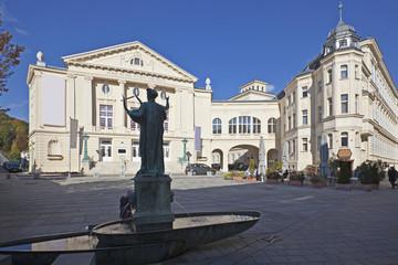 Fototapete - Baden bei Wien, Stadttheater