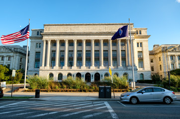 The US Department of Agriculture in Washington D.C.