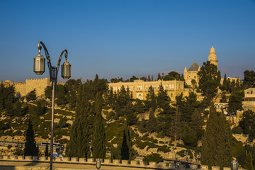 Jerusalem, castle, ancient, city