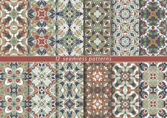 Set of seamless pattern