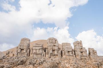 Antique statues on Nemrut mountain, Turkey