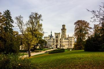 Hluboka nad Vltavou Castle, Czech Republic.