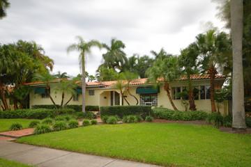 Single family Florida house