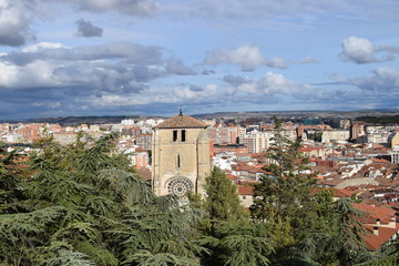 Panorámica de la Ciudad de Burgos.