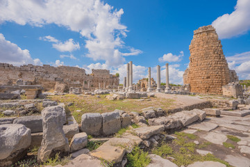 Ancient ruins of Perge