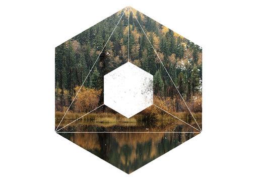 幾何学的なテクスチャマスク