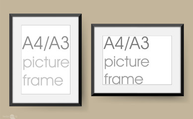A4 / A3 picture frame and photo frame