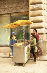Havana Cuba Food Cart