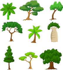 tree cartoon collections