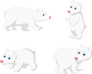polar bear cartoon collection