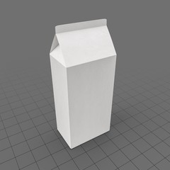 Food Carton Folded