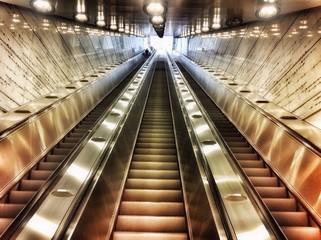 Escalator abstract