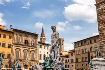 Neptunbrunnen  Florenz  Piazza della Signoria