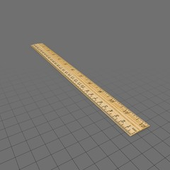 Ruler Wooden
