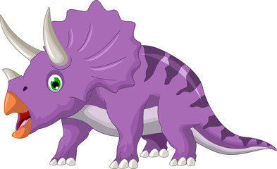 Dinosaur Triceratops cartoon