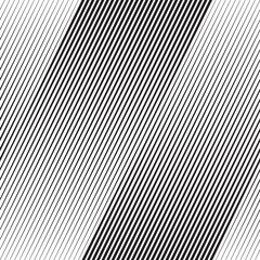 Vector Halftone Line Transition Wallpaper Pattern