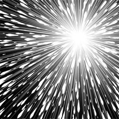 popular white ray star burst background television vintage