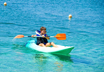 Water sport, kayaking
