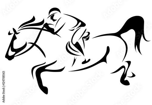 Line Art Vector Design : Vector cross country stock illustration royalty free