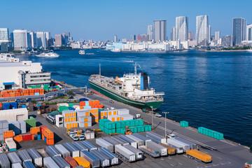 Foto auf Acrylglas Port 東京港