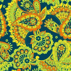 paisley seamless vecor pattern