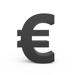 dark grey euro sign