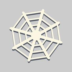 spider web flat icon