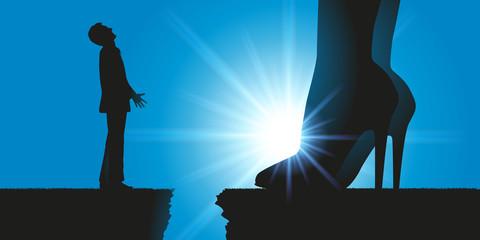 Autorité - Rapport de force - Homme - femme - Domination - supérieur