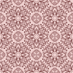 Seamless pattern in boho style1