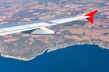 Tragfläche über Mallorca - 7753