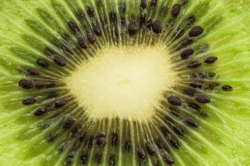 Close up kiwi slices background