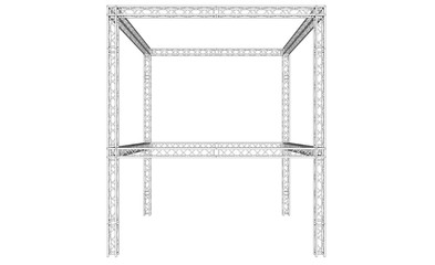 Backdrop stand by Truss system