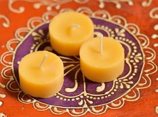 Tea Honey Candles