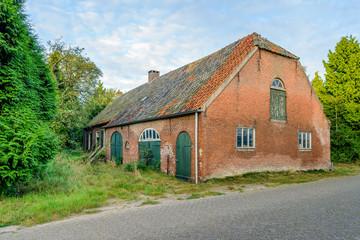 Historic Dutch long gable farmhouse built in 1885