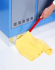 laver le vestiaire