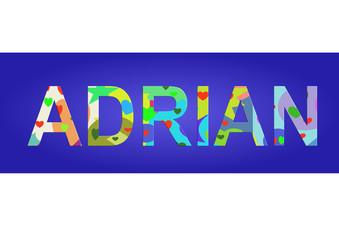 Vorname Adrian, Grafik