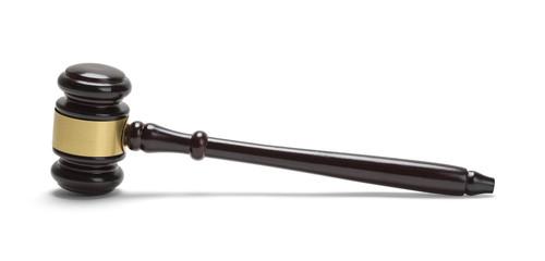 Judge Gavel Side View