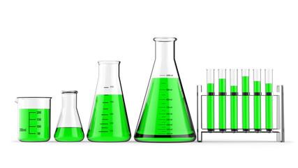 Labor Chemiegläser