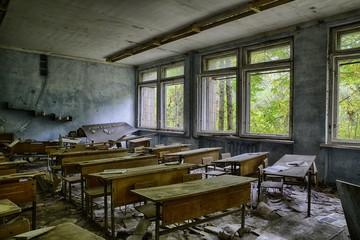 Prypjat bei Chernobyl 30 Jahre nach der Katastrophe