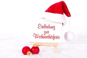 """bilder und videos suchen: """"einladung zur weihnachtsfeier"""", Einladungen"""