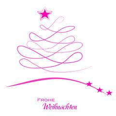 Frohe Weihnachten - Weihnachtsbaum