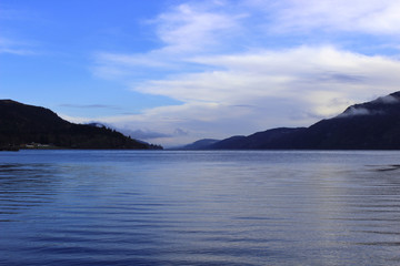 Loch Ness Lake Scotland Landscape