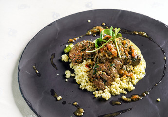 couscous with meat