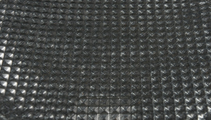 texture of the aluminum surface