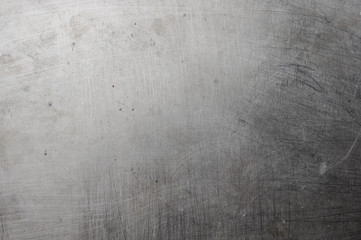 texture of the old aluminum surface